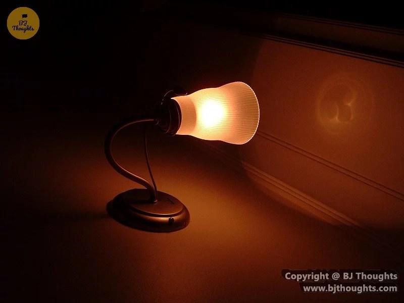 Kabul Orange Lamp