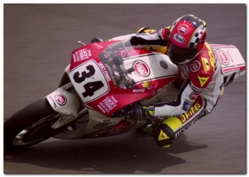 Lucky Strike Suzuki grand prix superbike motorcycle
