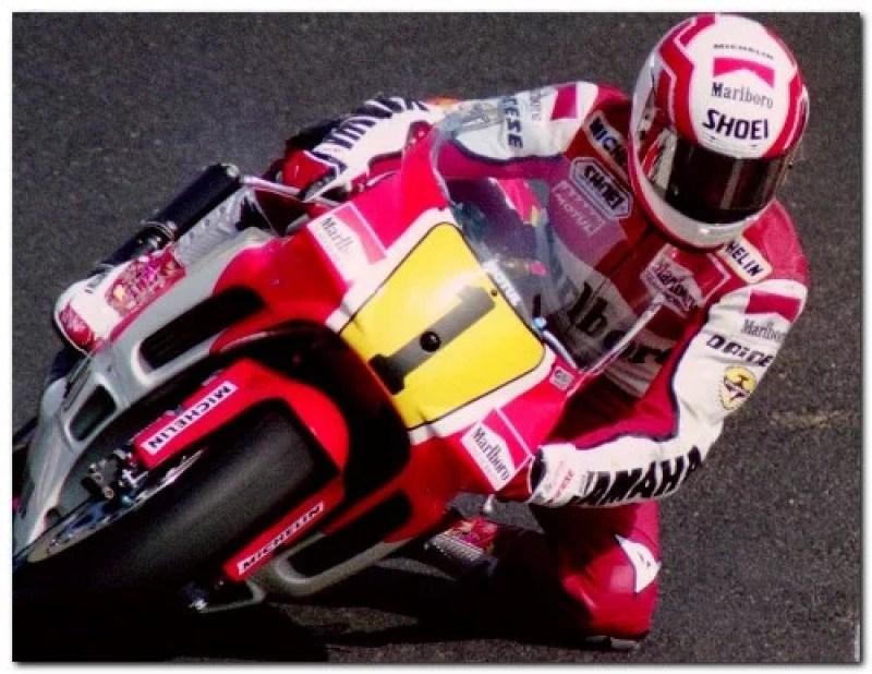 Malboro Yamaha grand prix superbike motorcycle