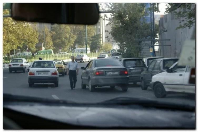 iran tehran traffic