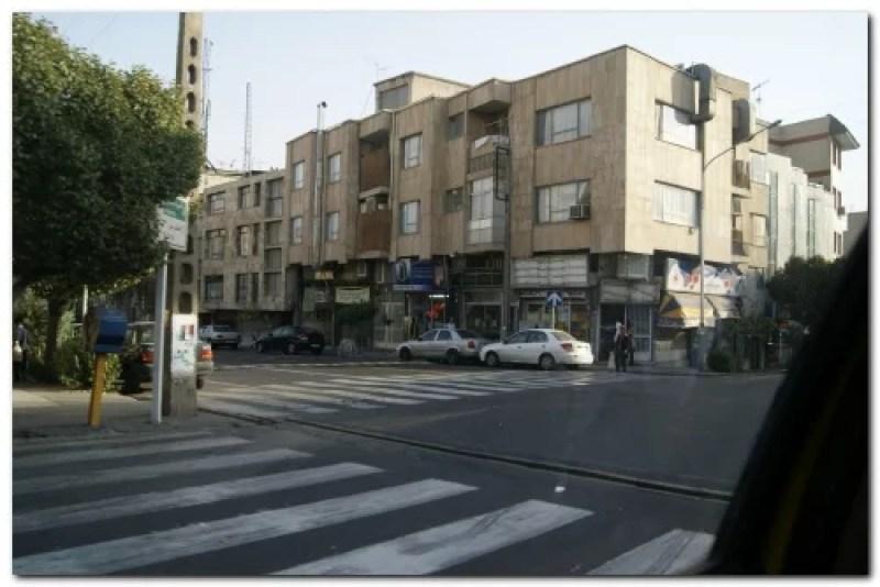 iran tehran traffic zebra