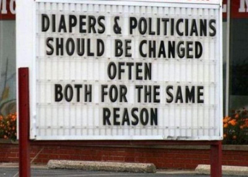 Politician Stupid Diapers