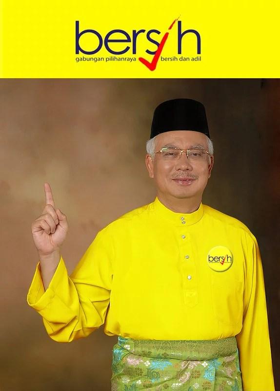 bersih najib election