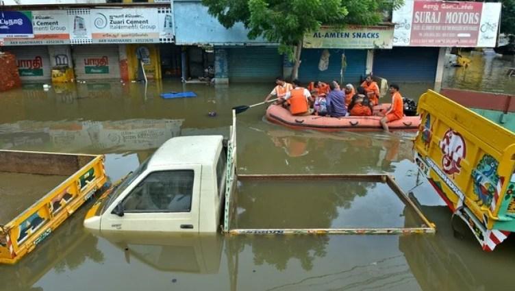 prepping chennai flood water ration