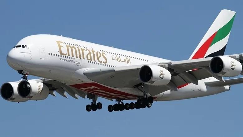 cape verde emirates a380 airbus