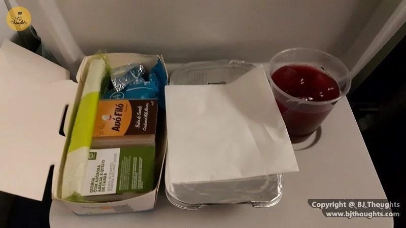 cape verde tap flight food