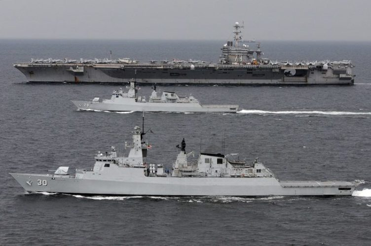 RMN frigate military intrusion
