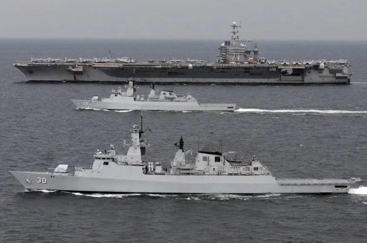 RMN frigate military intrusion