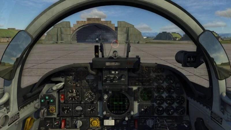 RMAF TUDM F-5E RMAF DCS Cockpit