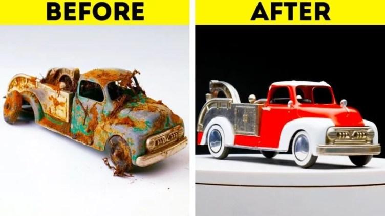 car makeover restoration project