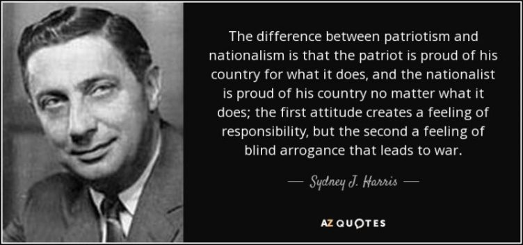Quote nationalism politician