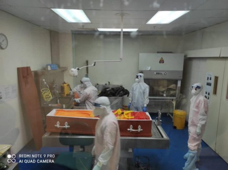 COVID19 Death Health Infection Selangor Malaysia