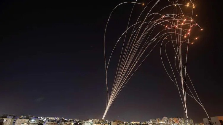 iron dome Israel air defence system military missiles