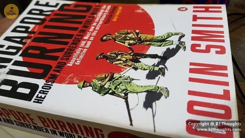 Singapore Burning Japanese World War 2 Colin Smith Tactics Books