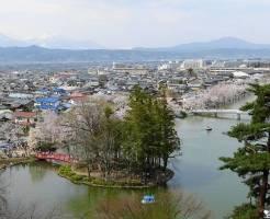 長野デートスポット⑧桜の季節は超絶おすすめ!臥竜公園