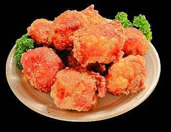 鶏肉消費量日本一!とり天&からあげ