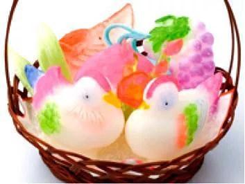 越山甘清堂で作る自作の和菓子!