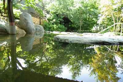 森林浴効果抜群!深谷花園温泉 花湯の森