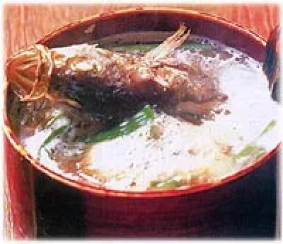 新潟県郷土料理⑤粟島の豪快漁師料理「わっぱ煮」