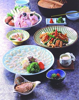 大分県ふぐランキング①臼杵ふぐ 良の家~麦焼酎に合わせるふぐ料理~