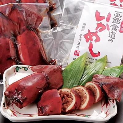 函館朝市おすすめ名物グルメ4.函館食道の「いかめし」