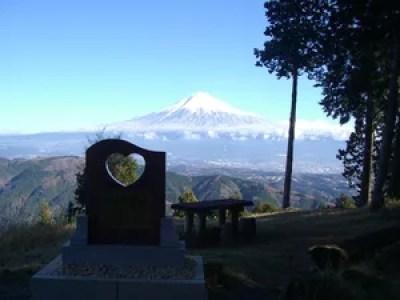 富士山絶景撮影ポイント⑩恋人と見れば良いことがあるかも!?白鳥山森林公園