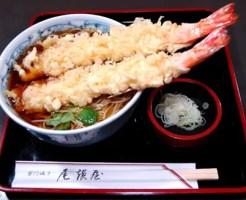 浅草そばランキング①天ぷらが美味しいおそば屋さん「尾張屋 本店」