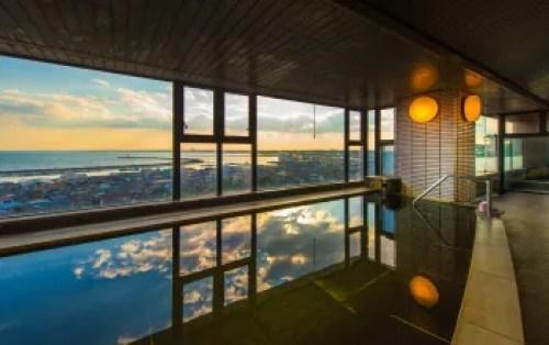 茨城県日帰り温泉ランキング⑩太平洋を一望できる!オーシャンビュー大洗