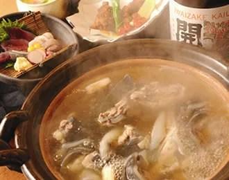 大阪すっぽん鍋ランキング⑨すっぽんでしっとり飲む!馳走や 純平