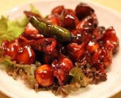 甲府鳥もつ煮ランキング①甲州の水で作られた生蕎麦と一緒に「生そば きり」
