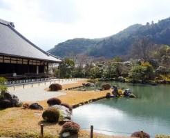 嵐山観光スポットランキング①広くて豪華でとにかく美しい!「天龍寺」