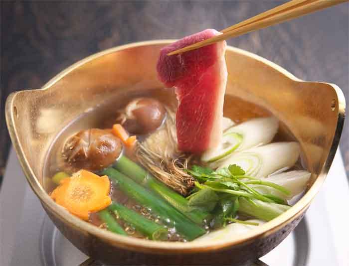 """神戸鍋料理ランキング⑨ミシュラン星付きの河内鴨料理""""田ぶち"""""""
