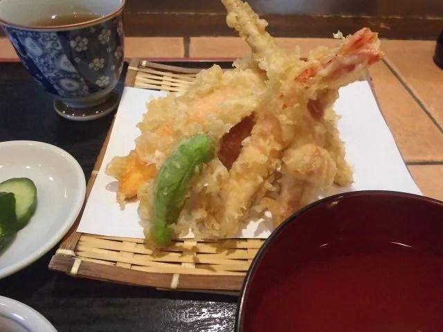 京都府天ぷらランキング⑦美味しく、安く、ボリューム満点「天えい」