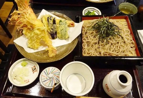 """軽井沢そばランキング⑧軽井沢駅からアクセス抜群""""きりさと"""""""