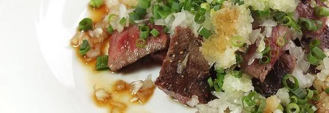 軽井沢ステーキランキング⑤落ち着いた古民家でいただく信州牛ステーキ「古民家盛盛亭」