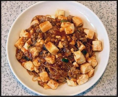 仙台マーボー焼きそばランキング④マイルドなマーボー焼きそば、中国料理 豊園(ほうえん)