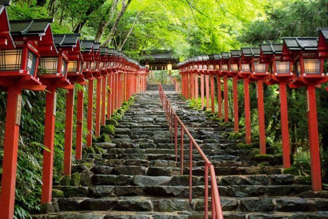 京都絶景撮影スポット⑧伏見より人が少なくておすすめ!貴船神社