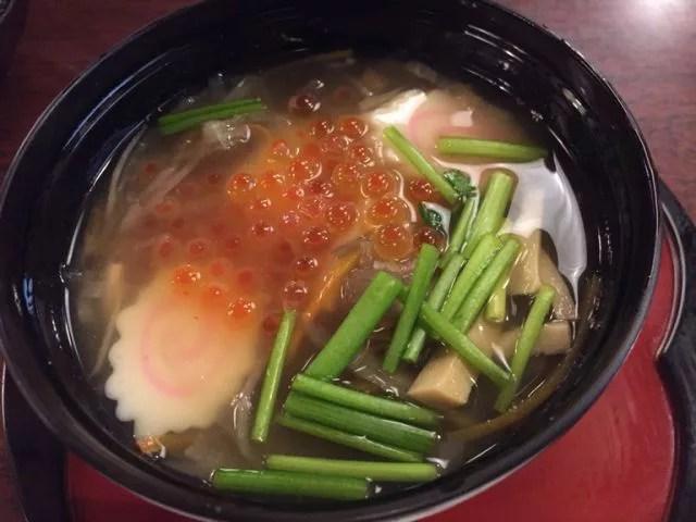 宮城県郷土料理ランキング⑨焼きハゼが香ばしい!【仙台雑煮】開盛庵
