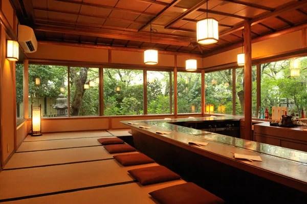 宇治名物グルメ⑤お茶室を改造したレストランで鉄板焼【ステーキ割烹 花やしき】1
