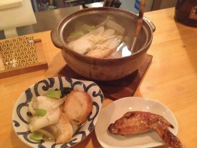 仙台鍋ランキング④仙台名物「笹かま」のしゃぶしゃぶ!本格焼酎DININGゆむら