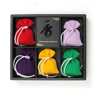 嵐山お土産ランキング⑨好きな香りを纏う喜び!【松栄堂】匂い袋