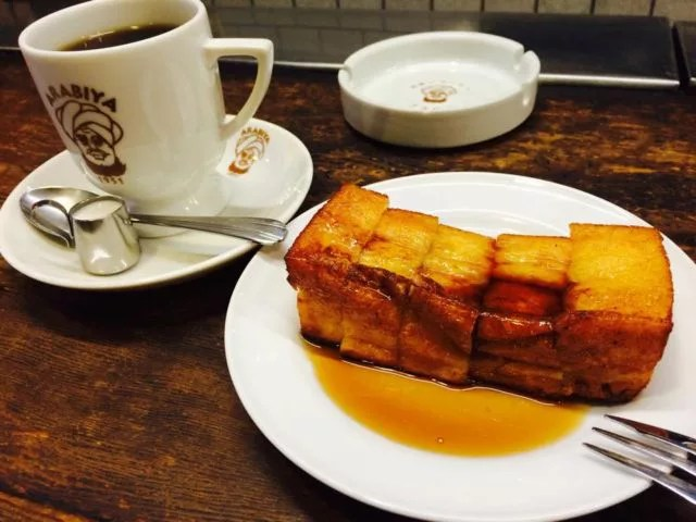 大阪のレトロな喫茶店ランキング④フレンチトーストでひと休み!「アラビヤコーヒー」