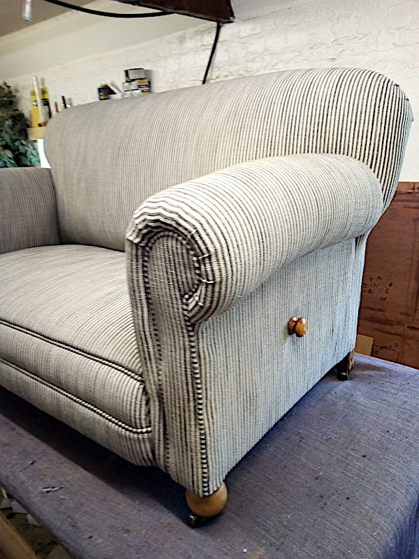 20's Drop Arm Sofa