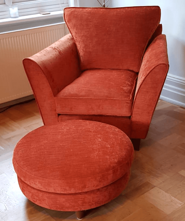 Chair - orange