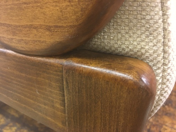 Cintique Chair Wood Frame Restoration