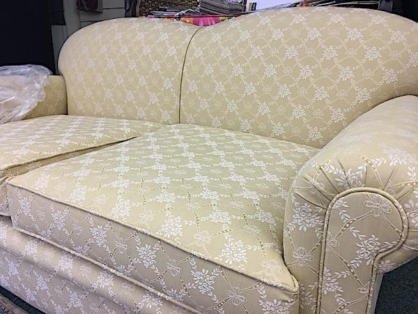 Double Camel Back Edwardian Sofa