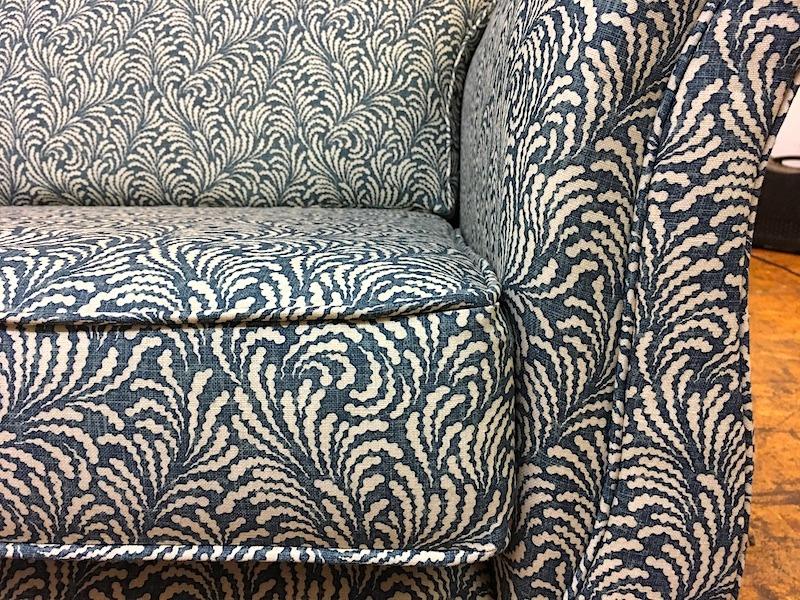 Duresta style pair sofas