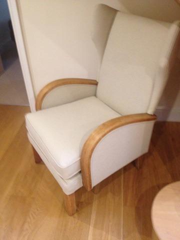 Loft chair - light wood