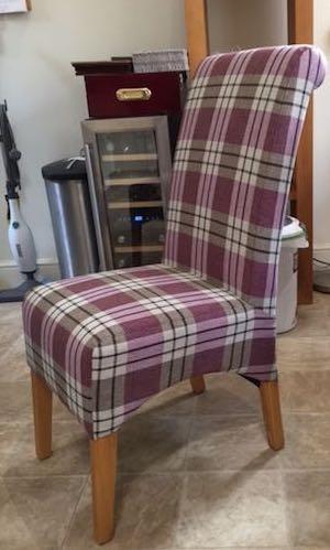 Kingston Chair - oak frame