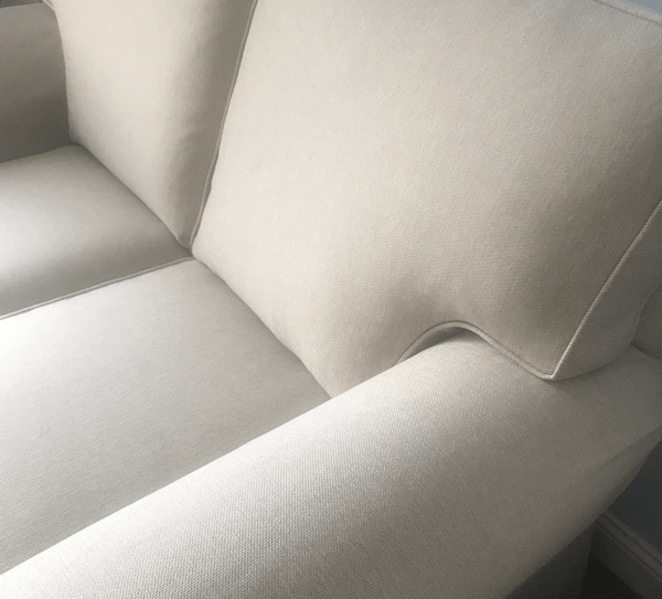 Loose covers for sofa - detail